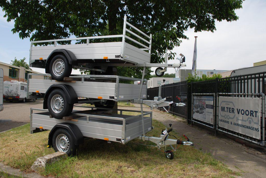 SARIS McAlu Pro DV135 - Robuuste professionele aanhangwagen Image