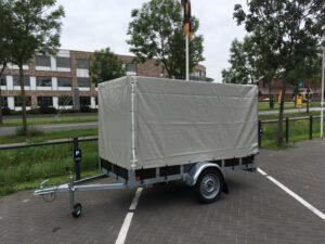 Ter Voort Aanhangwagen - Alko as - 2.57x1.31 - met huif - *Nieuw* Image